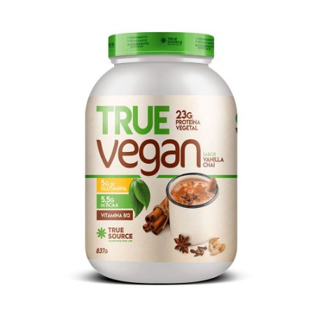 Proteína Vegetal Vanila Chai  837 g True Source