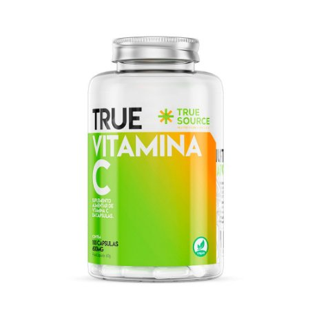 Vitamina C 600 mg 100 capsulas True Source