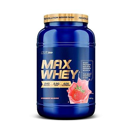 Proteína Max Whey  Isolado Strawberry  Milkshake 907 g  True Source
