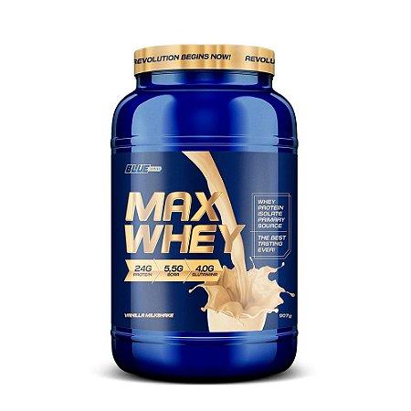 Proteína Max Whey  Isolado Vanila Milkshake 907 g  True Source