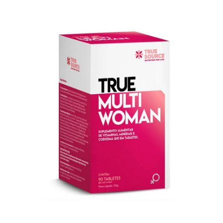Polivitamínico Multi Woman 126 g True Source