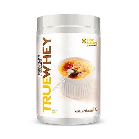 Whey Protein Hdrolisado e Isolado  Vanila Créme Brulle  418 g True Source