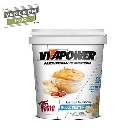 Pasta de Amendoim Blank Protein 1,005 kg Vita Power