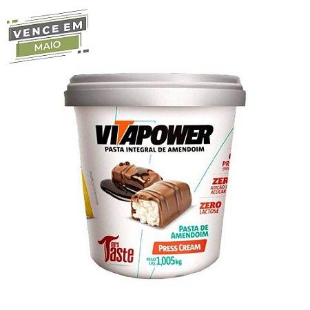 Pasta de Amendoim Integral Press Cream 1,005 kg Vita Power