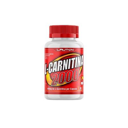 L-Carnitina 2000mg 60 Cápsulas Lauton Nutrition