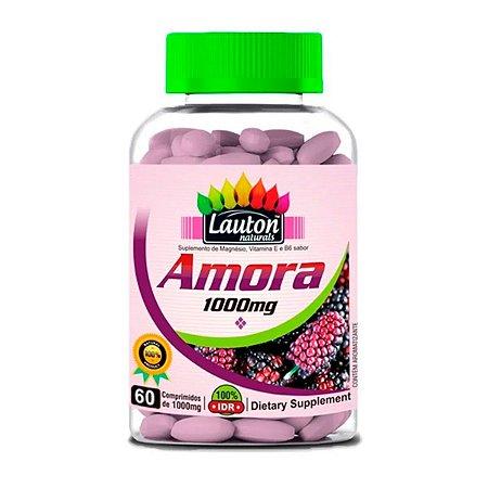 Amora Miúra 1000mg 60 Comprimidos Lauton Nutrition