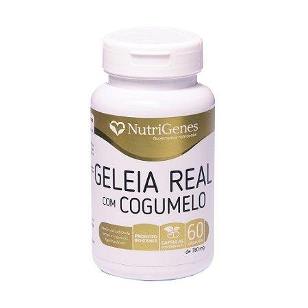 Geleia Real com Cogumelo 60 capsulas Nutrigenes