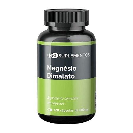 Magnésio Dimalato - 600mg 120 caps NG Suplementos