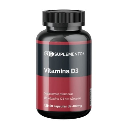 Vitamina D 250mg 60 caps NG Suplementos