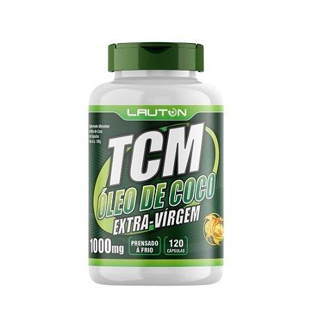 Óleo de Coco TCM 120 caps 1000mg Lauton Nutrition