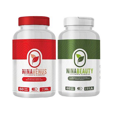 Kit Disposição e Emagrecimento - Nina Vênus e Nina Beauty