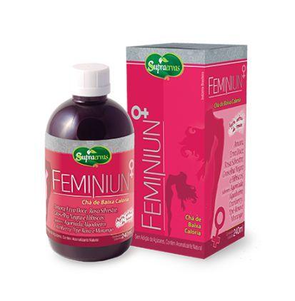 Chá Liquido Feminiun 500ml Supra Ervas