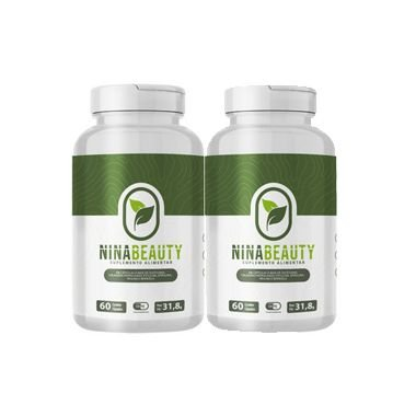 Nina Beauty - Emagrecedor Natural - Kit com 2