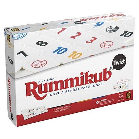 Jogo de Tabuleiro Rummikub Twist O Original – Grow