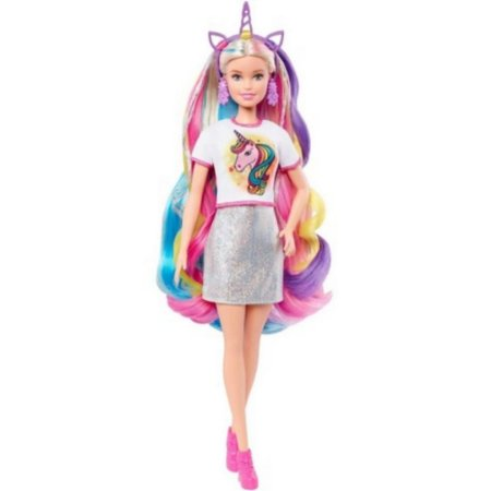 Boneca Barbie Colorful Fantasy Hair Dreamtopia - Mattel
