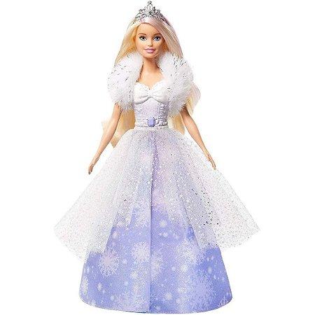 Boneca Barbie Princesa Vestido Mágico Dreamtopia - Mattel
