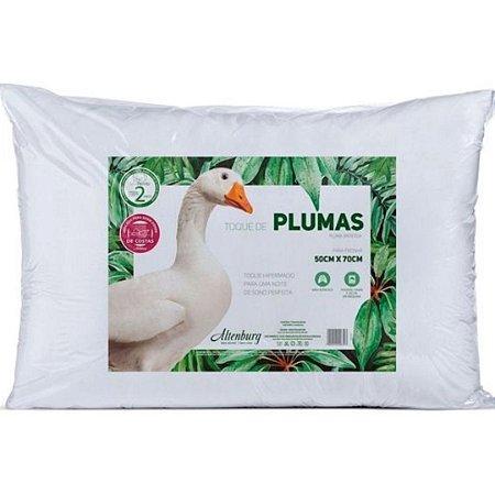 Travesseiro Toque de Plumas 50x70cm Branco – Altenburg