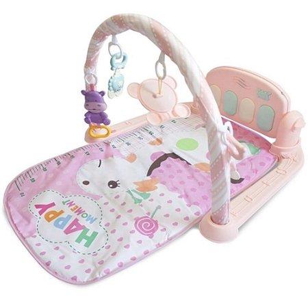 Tapete Musical Pianinho Melodia Infantil Rosa - Baby Style