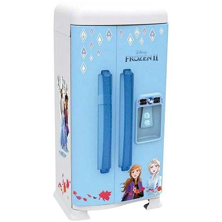 Geladeira de Brinquedo Frozen II 16 Peças +3 Anos Xalingo