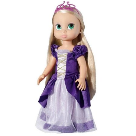 Boneca Stephanny Girl Princesa Rapunzel - Baby Brink