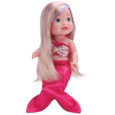 Boneca Sereia com Ducha que Funciona de Verdade - Diver Toys