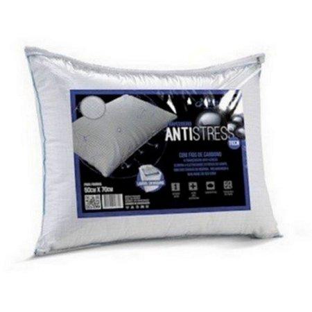 Travesseiro Antistress 50cmx70cm Altenburg Fios de carbono