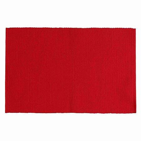 Jogo americano - Indian Haveli Tecido - Vermelho 32cm x 47cm