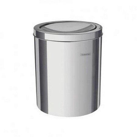 Lixeira Basculante 5 Litros Inox Polido - Tramontina