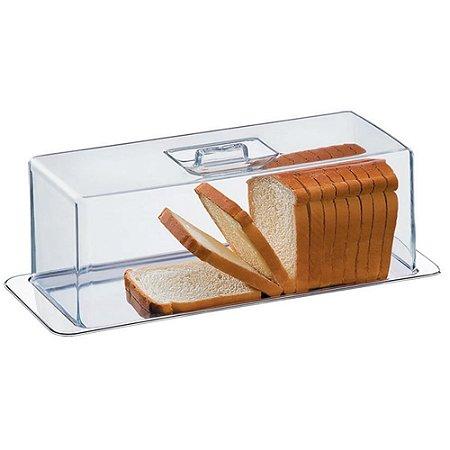 Conj porta pão, torta fria e Rocambole Átina aço inox Brinox