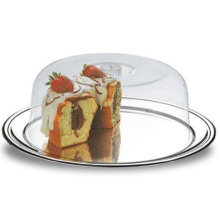 Conjunto para bolo com 2 peças Petúnia - Brinox