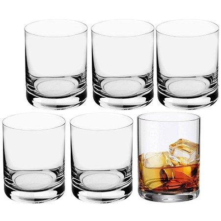 Jogo de 6 Copos Whisky 320ml em Cristal - Bohemia Barware