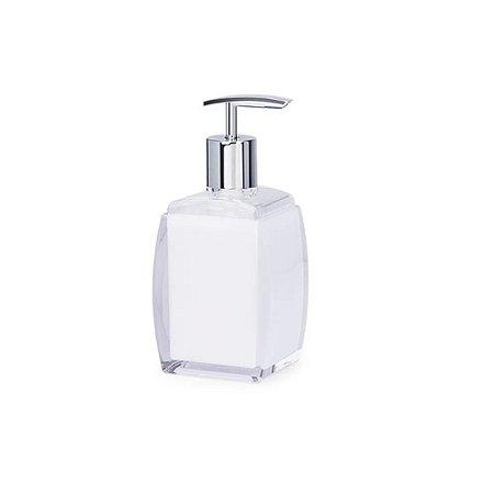 Porta Sabonete de Acrílico Sublime Branco 190 ml – Brinox