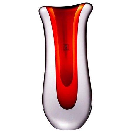 Escultura Cristal Murano Vermelha - Cristaleria São Marcos