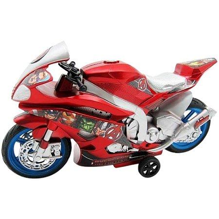 Moto à Fricção Vingadores com Luz e Som - Toyng