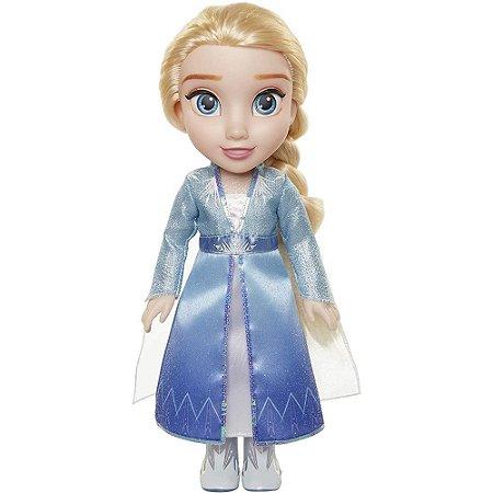 Boneca de Luxo Rainha Elsa Frozen II 37cm – Mimo Toys