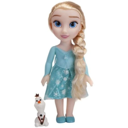 Boneca Disney Frozen Elsa Passeio com Olaf - Mimo Toys
