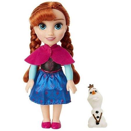 Boneca Disney Frozen Anna Passeio com Olaf - Mimo Toys
