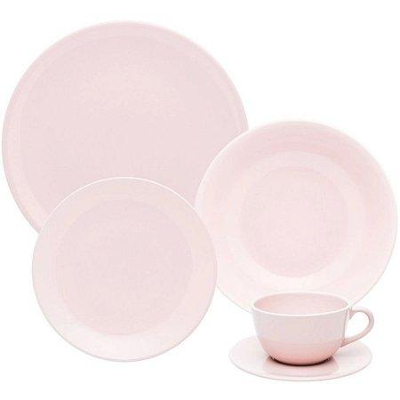 Aparelho Jantar Unni Milenial Cerâmica Rosa 20 Pçs – Oxford