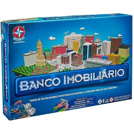 Jogo de Tabuleiro Banco Imobiliário com Aplicativo - Estrela