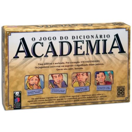 Jogo de Tabuleiro O Jogo do Dicionário Academia - Grow