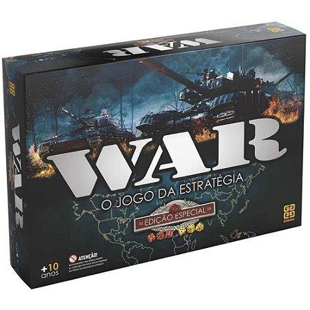 Tabuleiro War O Jogo da Estratégia Edição Especial - Grow