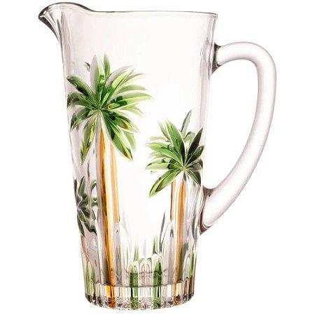 Jarra Palmeira Árvore 1,5 Litros Cristal de Vidro - Wolff
