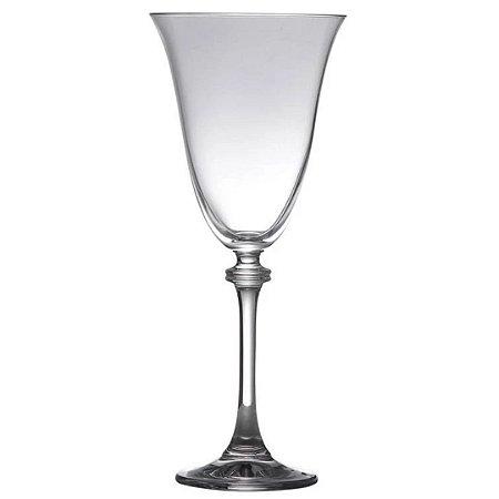 Jogo de Taças p/Água Asio Bohemia em Cristal 350ml - Incolor