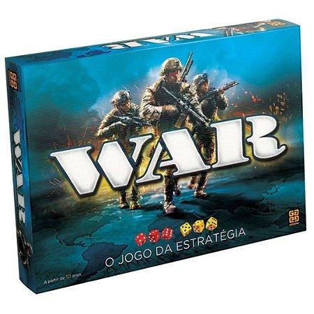 Jogo de Tabuleiro War I Ação e Estratégia - Grow
