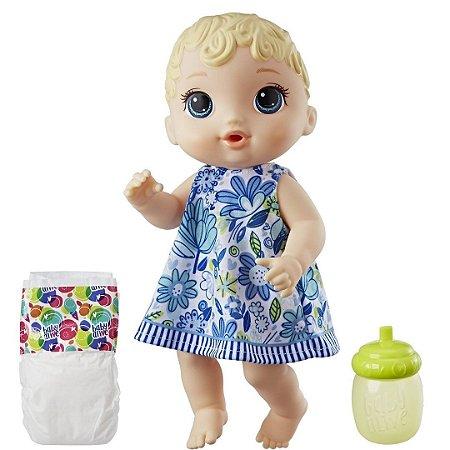 Boneca Baby Alive Loira Hora do Xixi 30cm - Hasbro