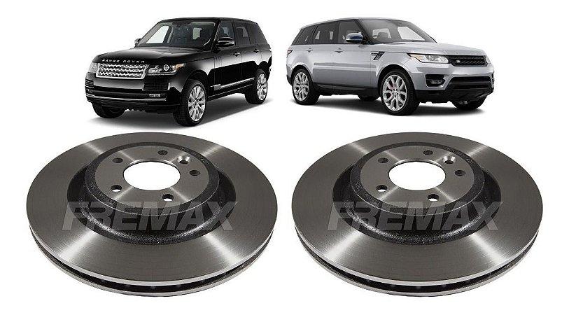 Disco Freio Traseiro Range Rover Sport Vogue 2010 A 2019 Par