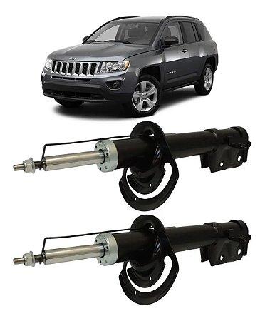 Par Amortecedor Dianteiro Jeep Compass 2012 2013 2014