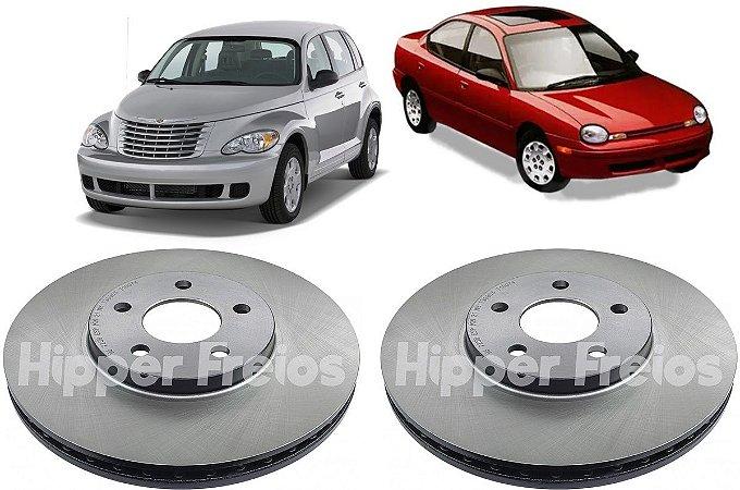 Disco de Freio Dianteiro Neon Pt Cruiser 1995 a 2008 - Par