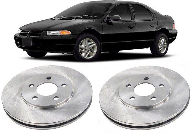 Disco de Freio Dianteiro Chrysler Stratus 1995 a 2005 - Par