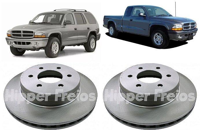 Disco Freio Dianteiro Dodge Dokota Durango 1997 a 2003 - Par